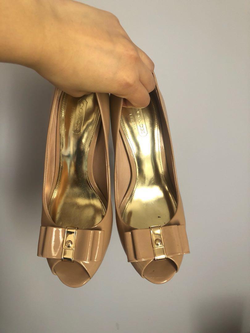 Coach starla heels size 7