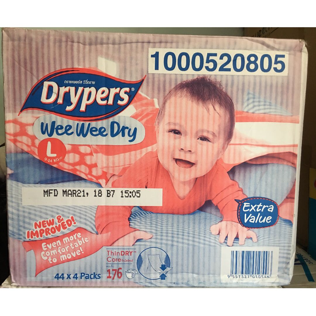 8f877c7553dc Drypers wee wee dry Rm20 per pack