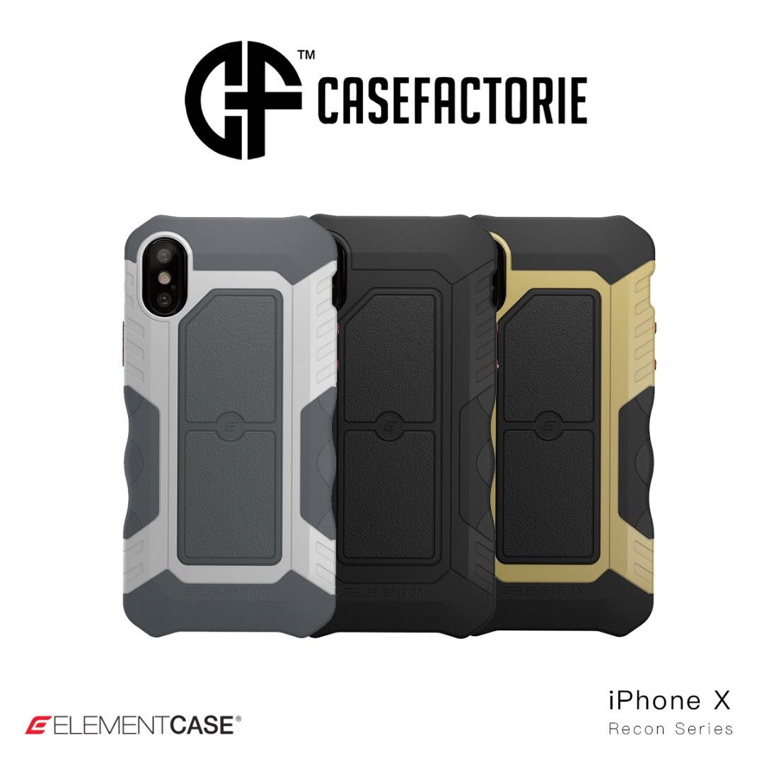 free shipping 68790 e4fe5 Element Case Recon for iPhone X/Xs