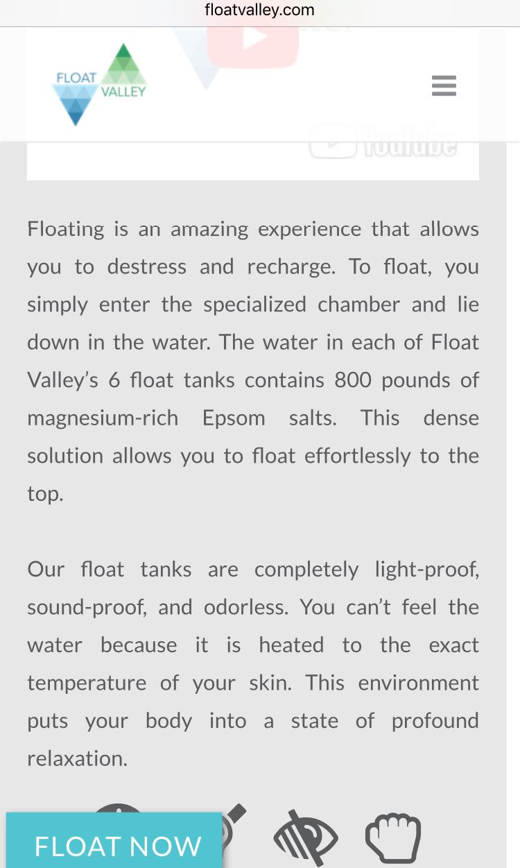 FLOAT VALLEY SPA