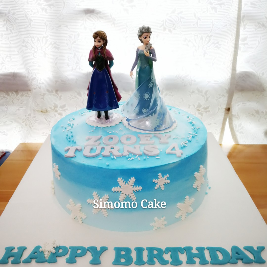 Frozen cake, Elsa Cake, Anna Cake (FREE DELIVERY), Food