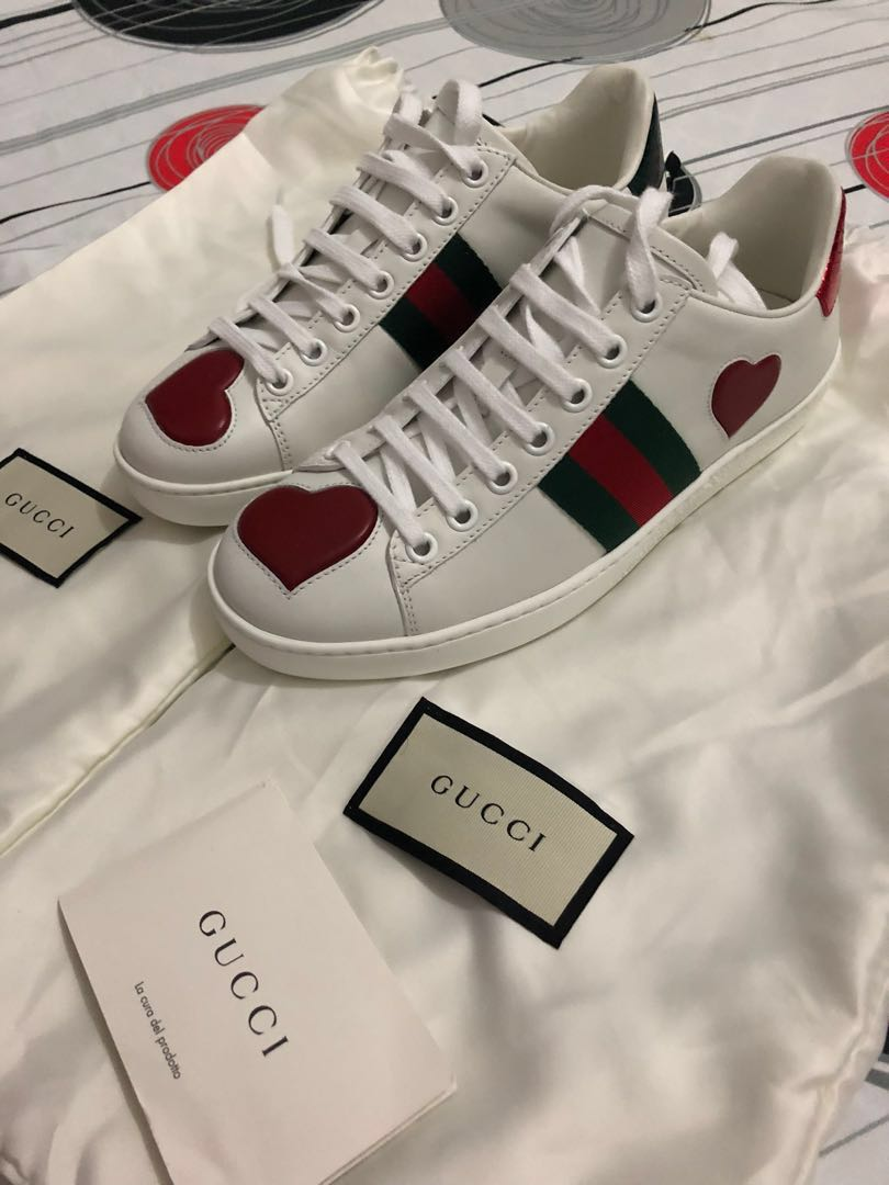 daae94ecf Gucci Ace Sneakers Repriced!!!!, Women's Fashion, Shoes on Carousell