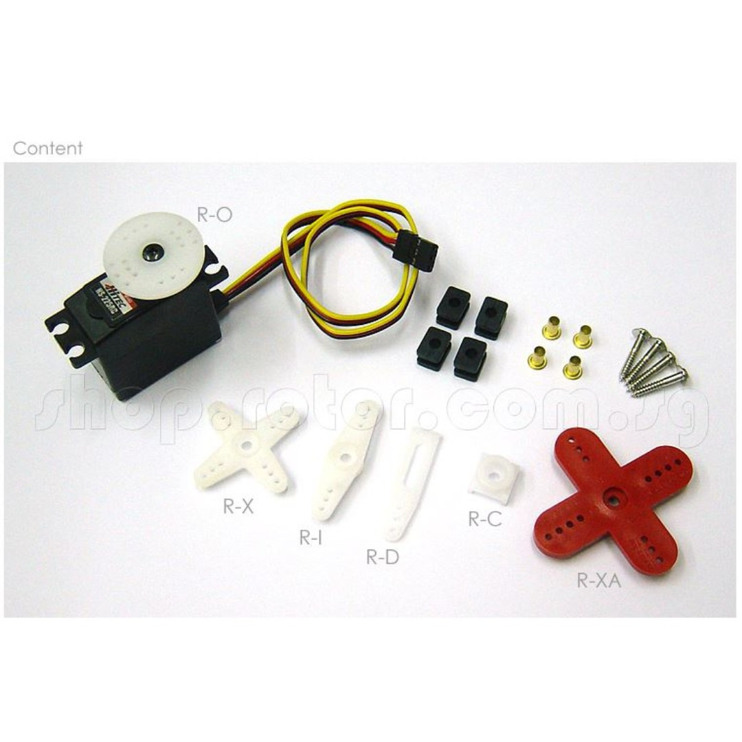 Hitec HS-225MG Mighty Mini Servo Motor (Metal Gear) [Torque