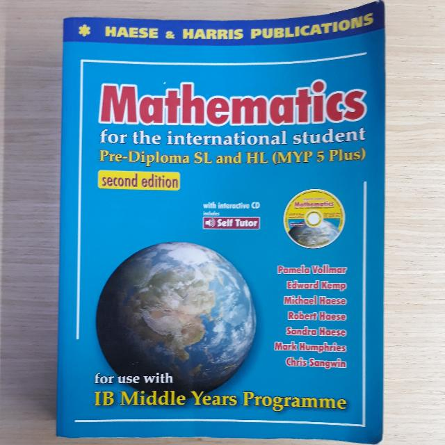 Mathematics HL Core 3rd Edition IB Diploma Math Books