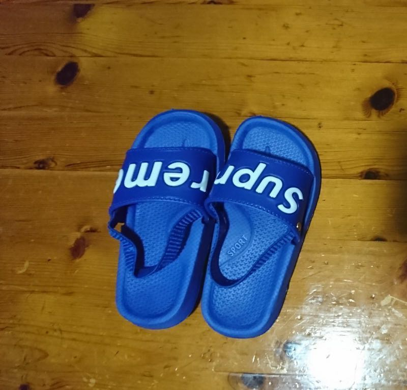 1879a38fba0c Inspired SUPREME sandals