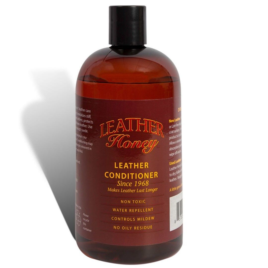 Conditioner For Leather Sofa: Leather Honey Leather Conditioner (16oz), Furniture