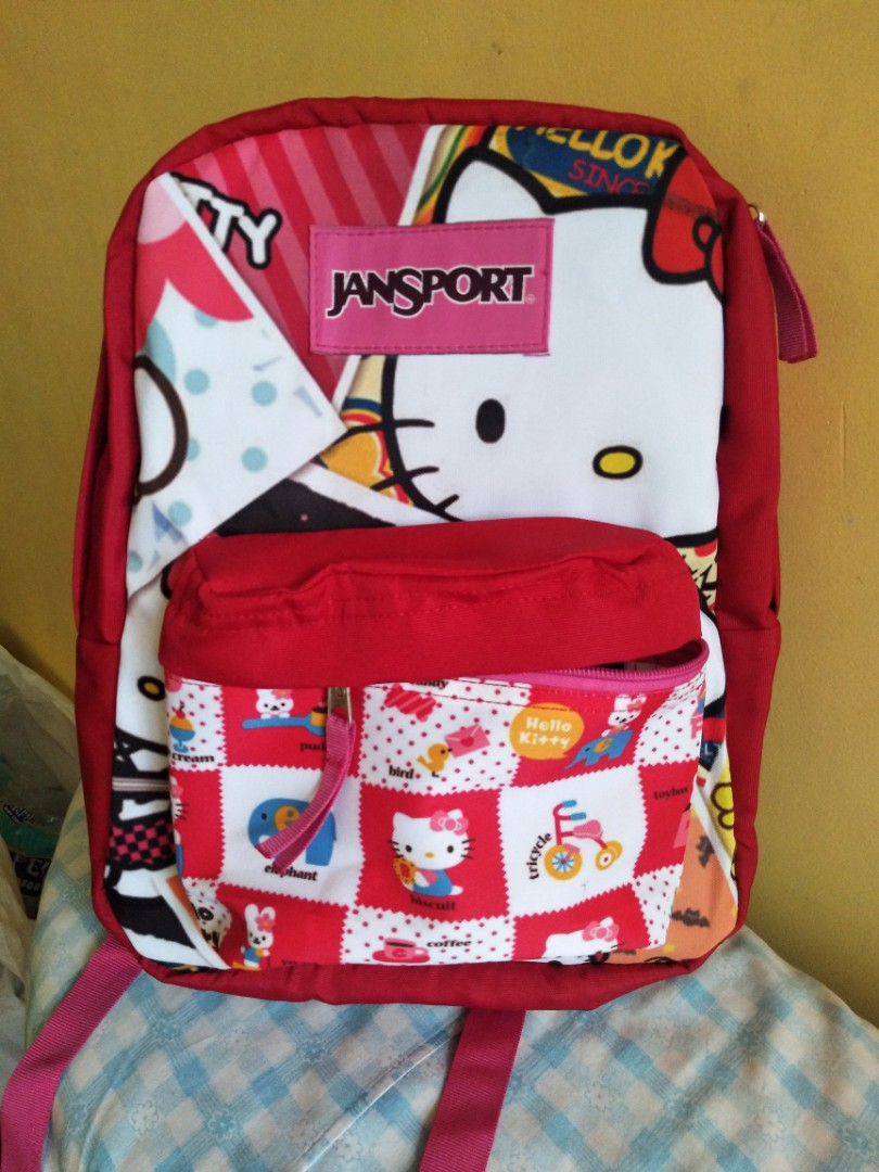 2fd9e3adf Medium size hello kitty jansport backpack with free inner sleeve ...
