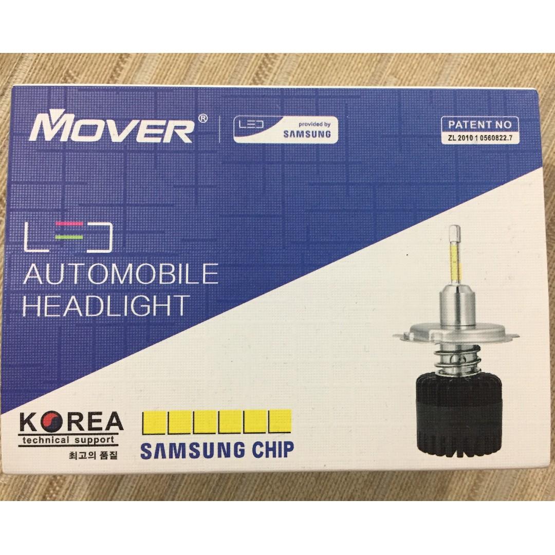 Mover Led Headlight 5000k H11 Ori Samsung Chip Auto Accessories As Qr Satu Set Depan Belakang On Carousell