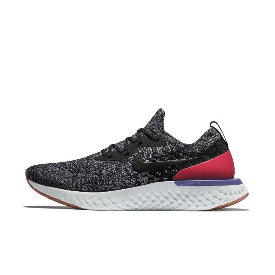 67940c09ee3d0 Nike Epic Flyknit React Pearl Grey