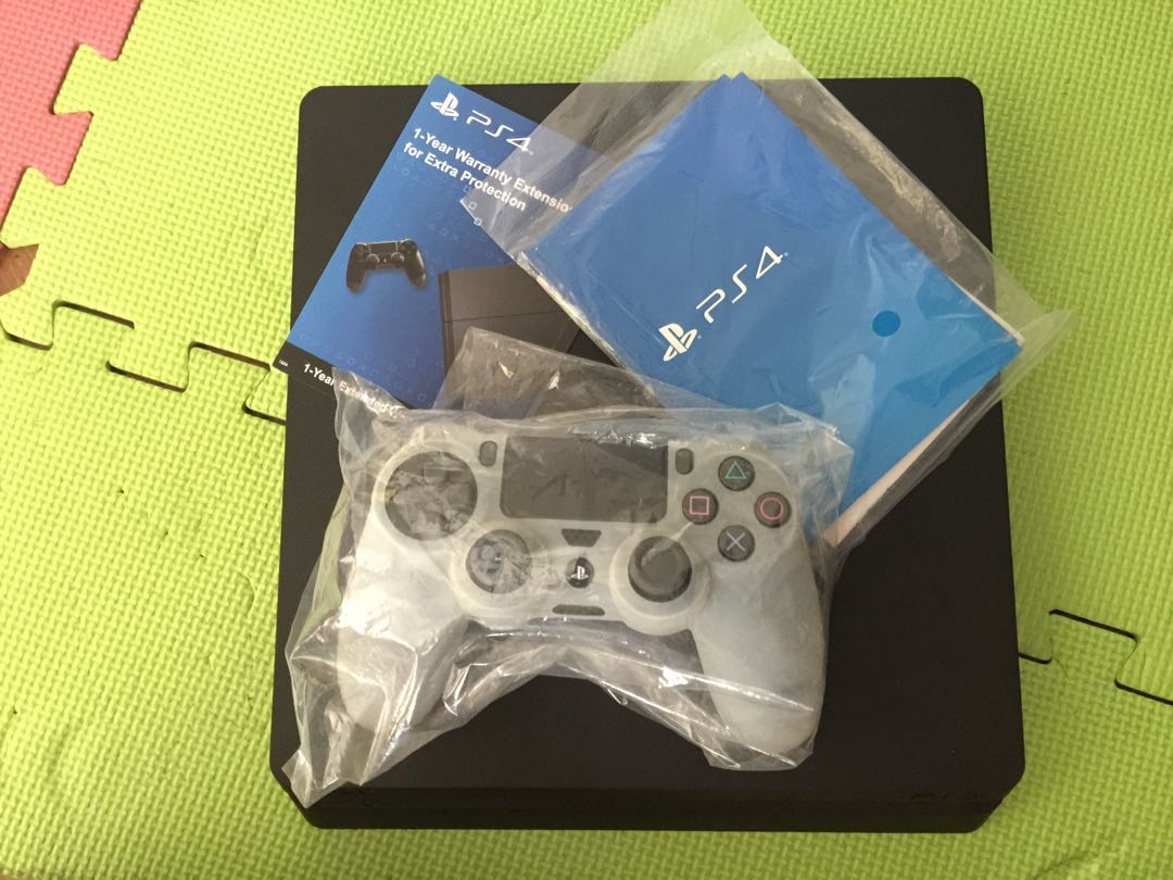 Ps4 Slim 500gb Video Gaming Game Consoles On Carousell Cuh 2006a Jet Black Extra Controller Ds4 New Model