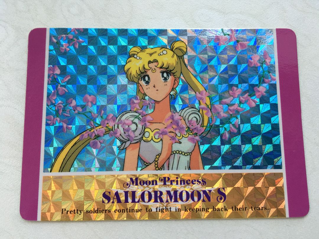 Sailormoon Sailor Moon 美少女戰士 閃卡 閃咭