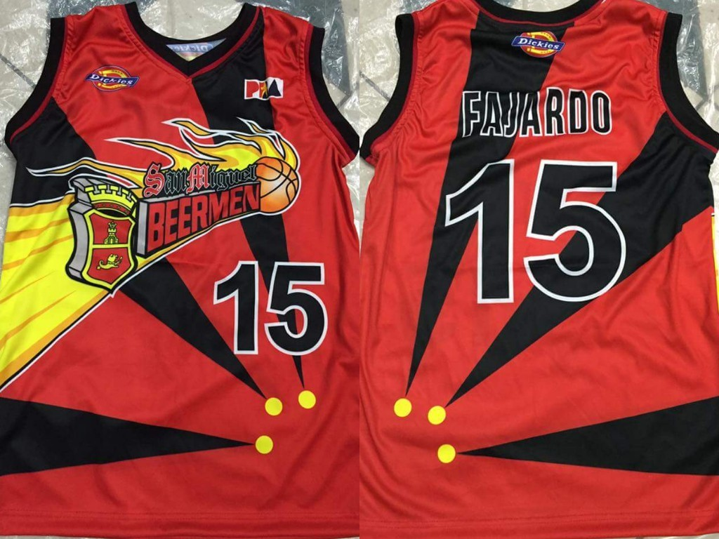 67396a04770 San Miguel Beermen Sublimated PBA Jersey on Carousell