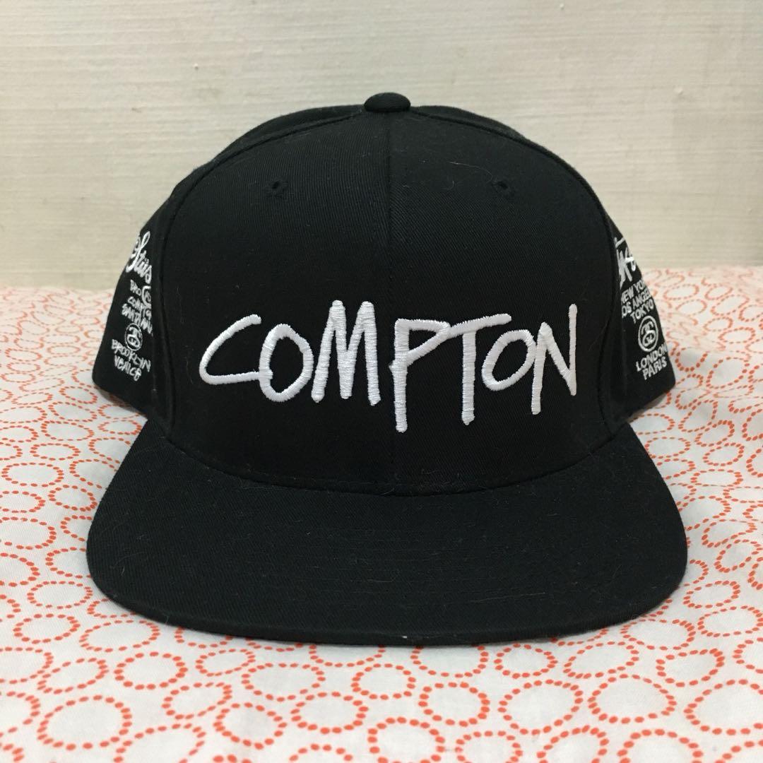 6b1fb778141 stussy Compton SnapBack cap hat