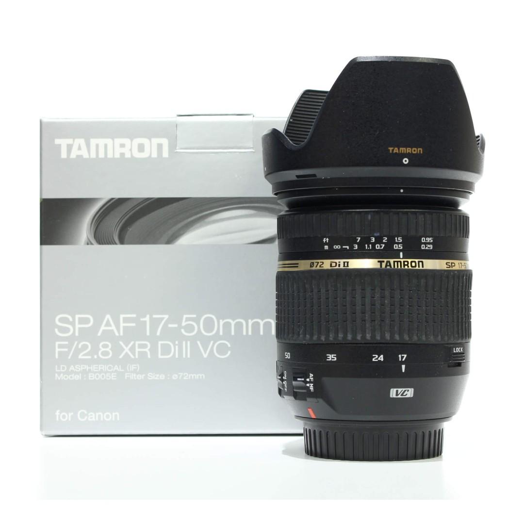 Tamron AF 17-50mm F2.8 XR Di II VC (Canon Mount)