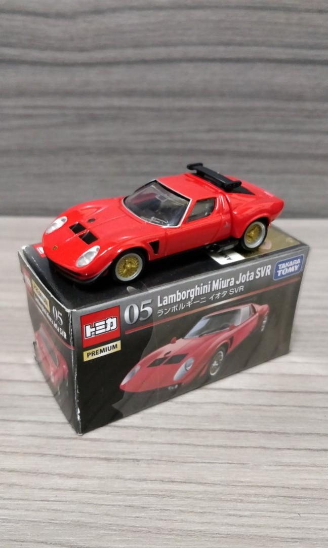 Tomica Premium 05 Lamborghini Miura Jota Svr Toys Games Other