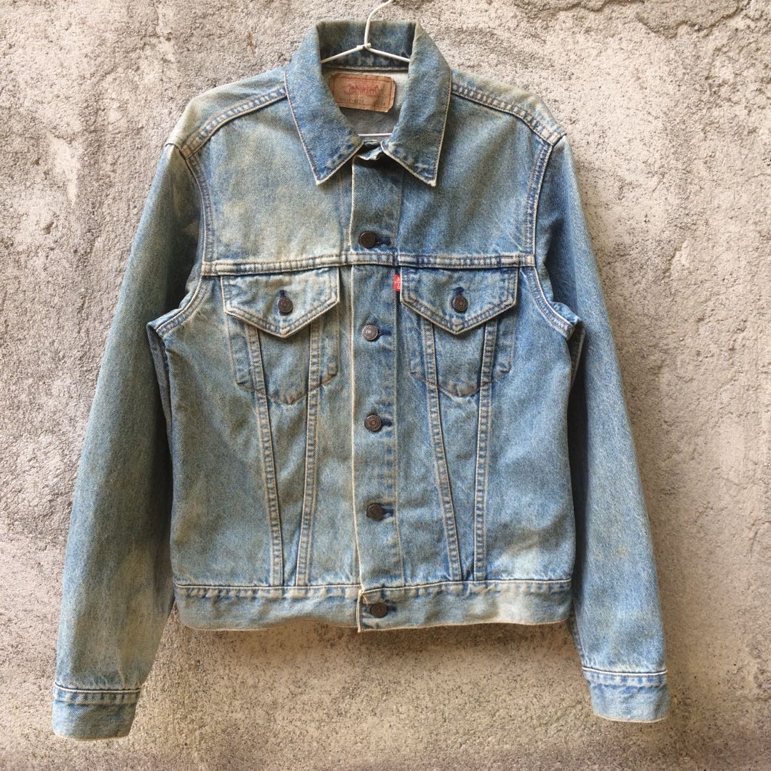 Trucker Jacket Jeans Levis Made Japan Mens Fashion Clothes Kemeja Lengan Pendek On Carousell