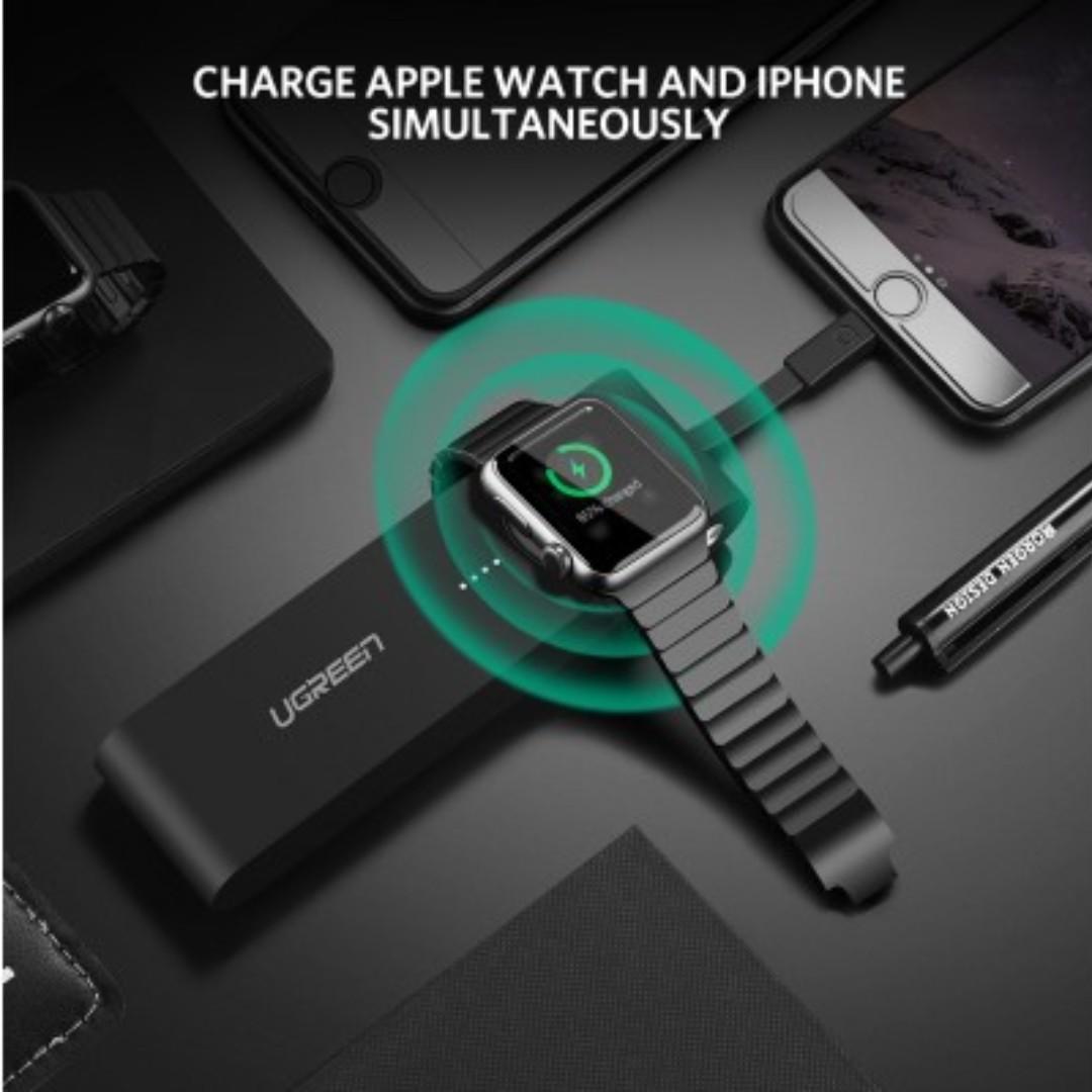 UGreen Apple i-Watch Power Bank 4400mAh Black