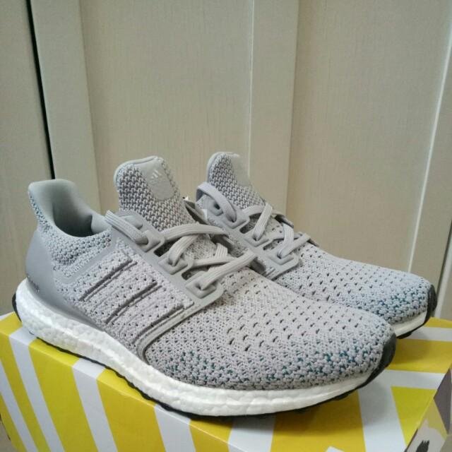 🔥UK8🔥 Adidas Ultra Boost Ultraboost Clima Grey Limited Edition ... aae40480d