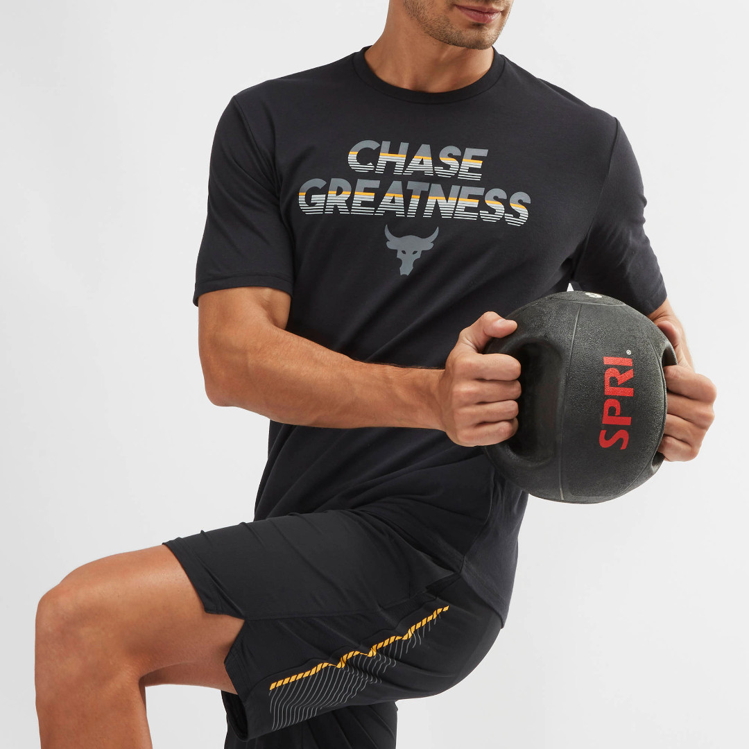 8617752127c69 Under Armour Project Rock Chase Greatness T-Shirt