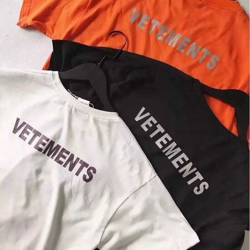 1a061658d4c7 Vetements Staff Tee 3M Reflective , Men's Fashion, Clothes on Carousell