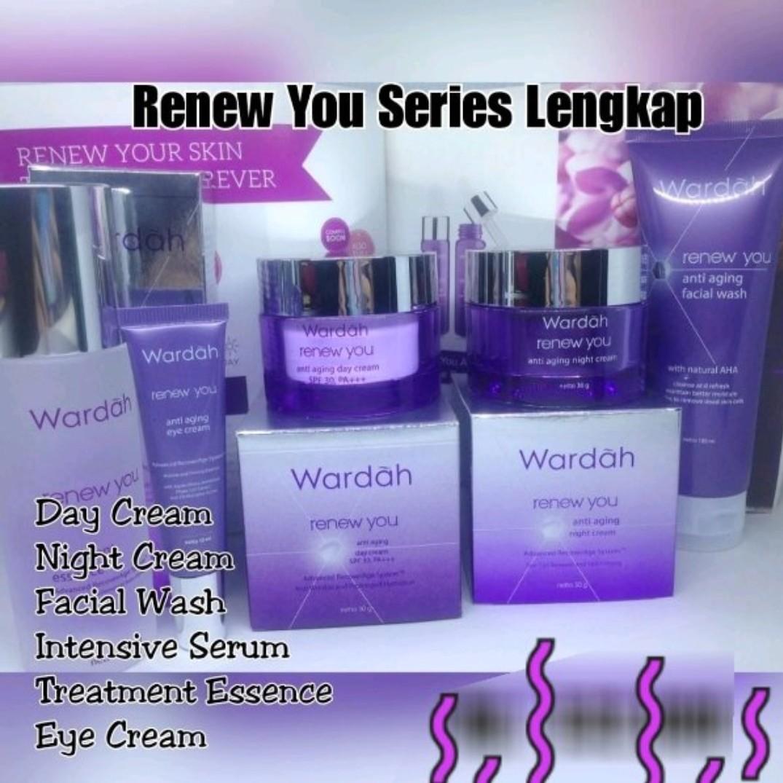 Wardah Renew You Series Daftar Update Harga Terbaru Indonesia Anti Aging Night Cream 30 G Health Beauty Makeup On Carousell Source Halal Cosmetic Serum