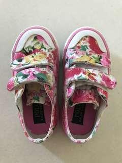 購自美國 Polo 女童 波鞋(Size:Eur 23.5)
