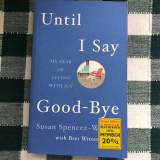 WTS Book Title: Until I Say Goodbye