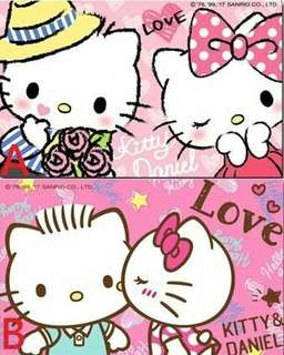 Hello Kitty & Dear Daniel 嗨、啾 兩款可挑