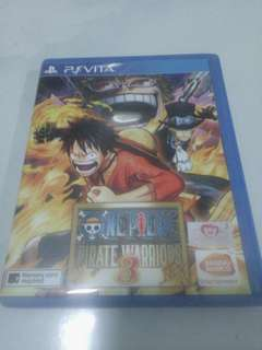 One piece ps vita game