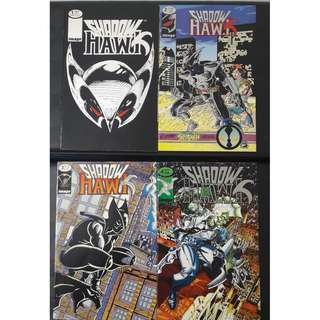 Shadowhawk Vol. 1 #1-4 (Complete)