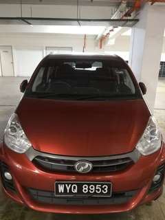 MYVI AUTO 1.3 for RENT!! Daily/ Weekly/ Monthly