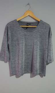 COTTON ON - Silvery Top