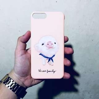 iPhone 7 Plus Case — Pig