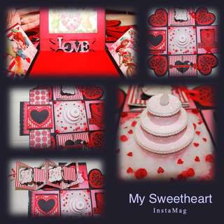 """My Sweet Heart"" box explosion - IN STOCK"