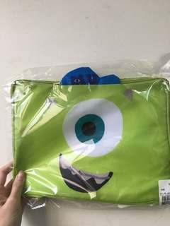 🚚 日本 迪士尼 大眼仔 行李收納袋