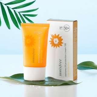 INISFREE EXTREME UV PROTECTION CREAM 100 50+/pa+++