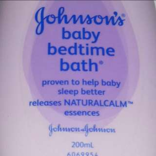 To bless - johnson's baby bedtime lotion