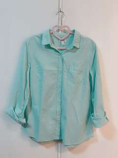 Old Navy Pastel Green Polo