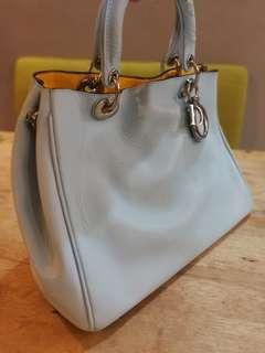 Genuine Christian Dior Handbag Made in France Free Clutch Bag