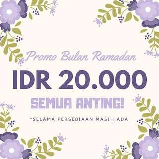 ANTING ramadhan promo!