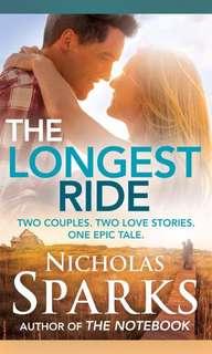 The Longest Ride — Nicholas Sparks (ebook)