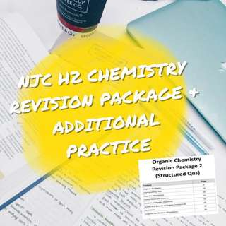 NJC H2 CHEMISTRY REVISION PACKAGE