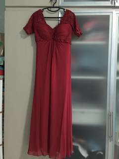 Tadashi Red party dress (size 8)