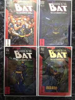 SHADOW OF THE BAT #1-4