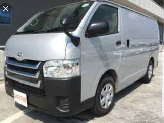 Toyota Hi-ace Euro 5 for rent