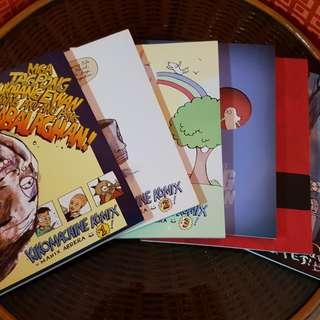 Kikomachine Komiks (Comics 4 and 5 only)