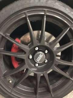 Polo GTI front brake kit