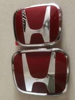 Honda Civic FD Emblem Merah