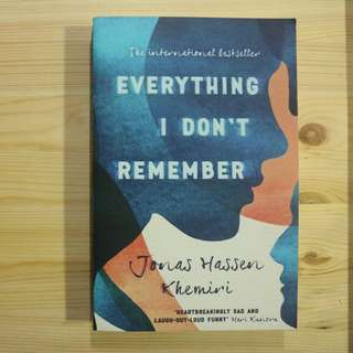 Everything I Don't Remember - Paperback