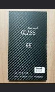 Samsung note 8 玻璃 螢幕 鋼化 保護貼 縮小版 小孤邊 全透明 glass protect